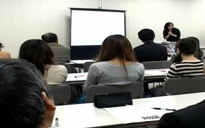 12月17日に開催された県職員向けの説明会の一環としてNPO伊賀の伝丸による「外国人の人権」についての講演会