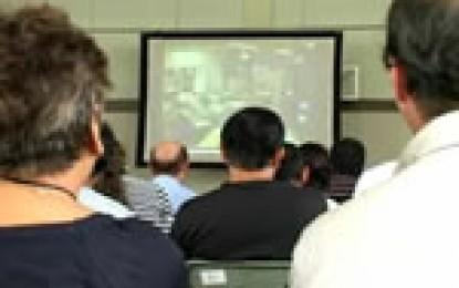 平成22年10月17日に三重県が四日市市で開催した外国人住民を対象とした防災セミナーの取材