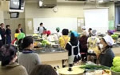 平成22年11月20日(土)開催されたNPO法人愛伝舎による「食育セミナー」