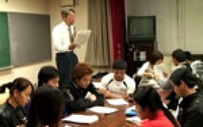 平成23年2月20日に開催されたMIEFによる「日本の社会保険制度」出前説明会