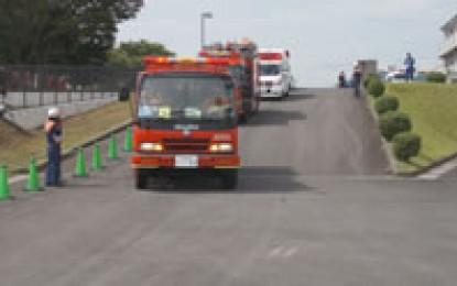 2012年9月2日(日)に鈴鹿市で「2012三重県・鈴鹿市 総合防災訓練」が開催されました