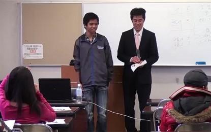 2012年11月11日(日)松阪市でセミナー「就職のための日本語学習の大切さについて」が開催されました