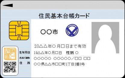 2013年7月8日から 外国人住民の方についても「住基ネット」・「 住基カード」の運用が始まります