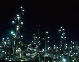 Night View of Yokkaichi