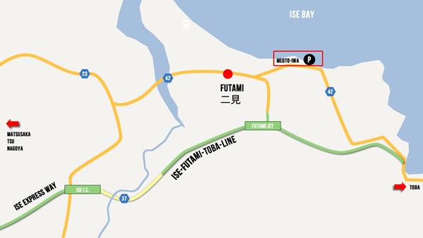 mapa meotoiwa futami