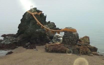 [三重を知ろう]  二見の夫婦岩