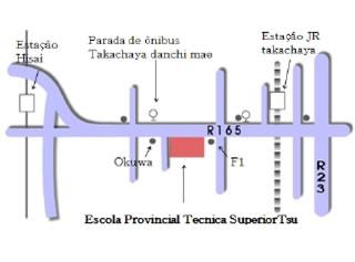 mapa - escola de tsu