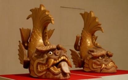熊野古道センターで3月23日まで「人・海・魚」展を開催中