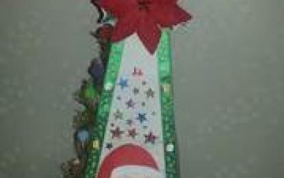 2014年11月23日(日) 尾鷲市で『月別ひのきアート教室「クリスマス飾り」』開催