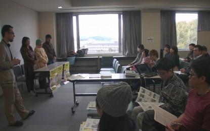 2015年2月14日に開催された「多文化共生啓発イベント」