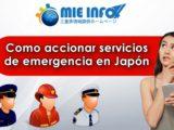 Como accionar servicios de emergencia en Japón