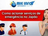 Como acionar serviços de emergência no Japão